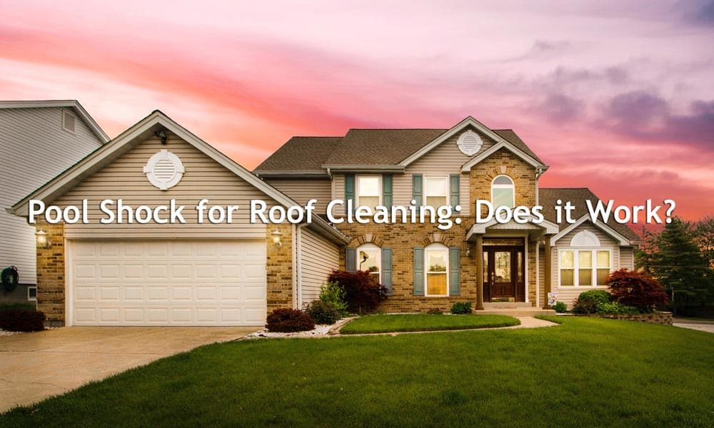 Pool Shock for Roof Cleaning