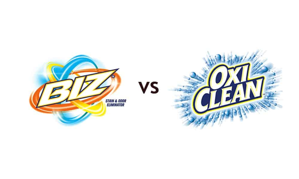 Biz Vs Oxiclean: What's the Difference