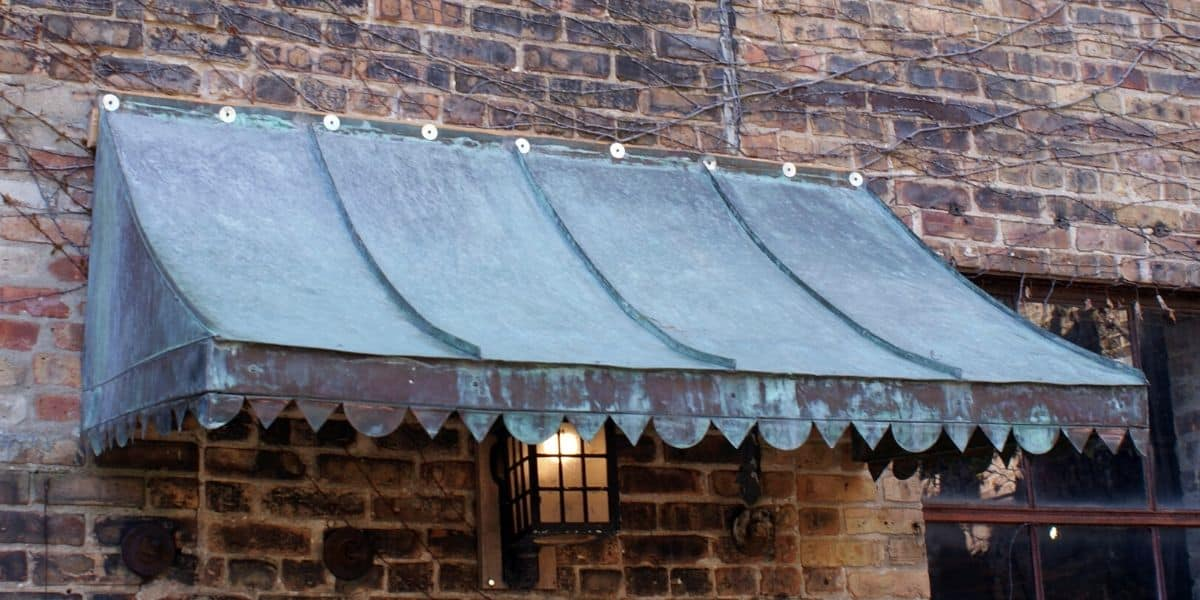 How to Clean Copper Awnings