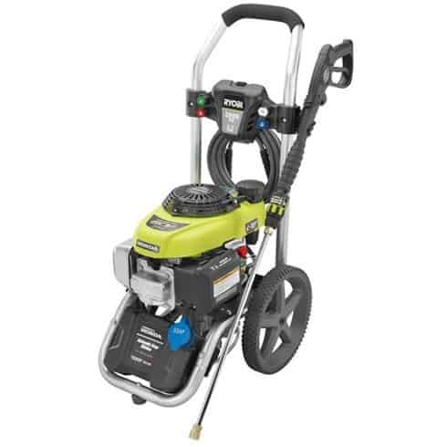 The RYOBI 2800-PSI Power Control Pressure Washer