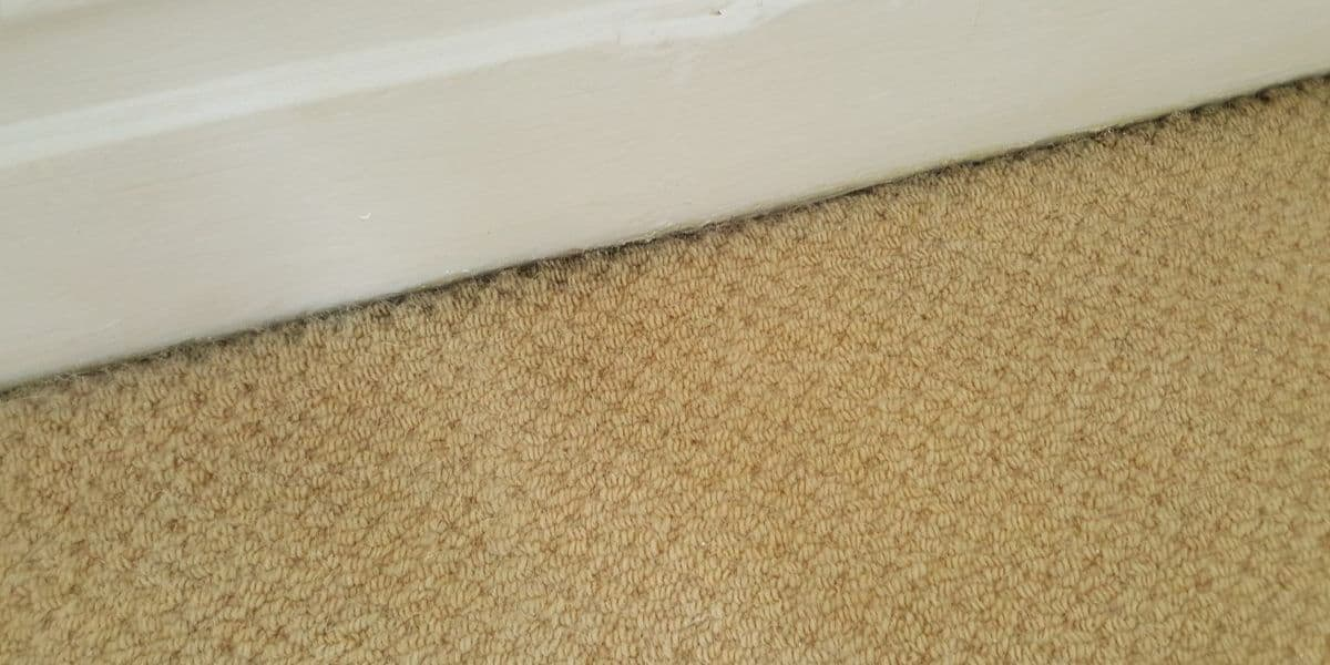 how to clean dirty carpet edges