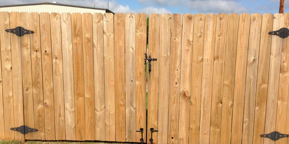 how to avoid double gates blowing shut