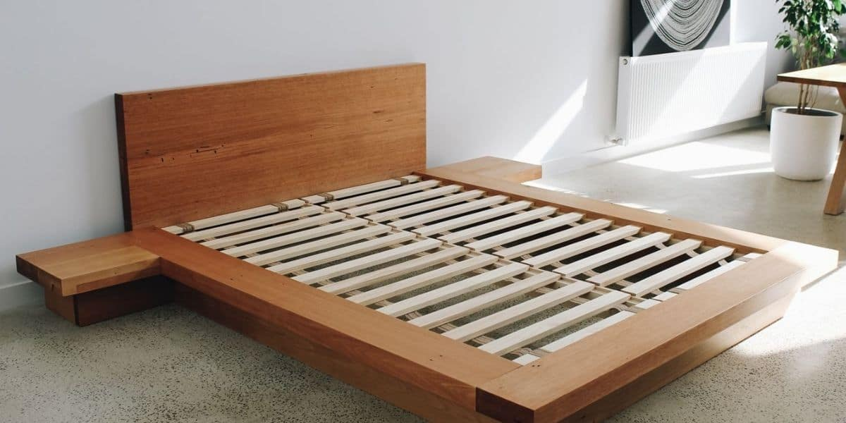 how to keep bed slats from falling out