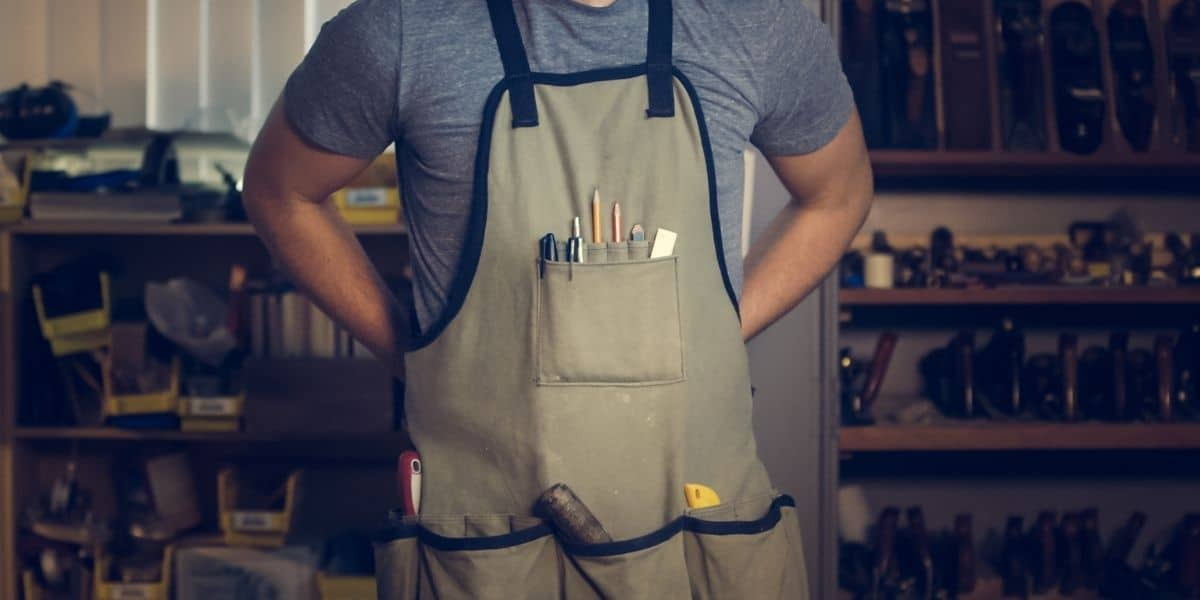 how to wash aprons without tangling