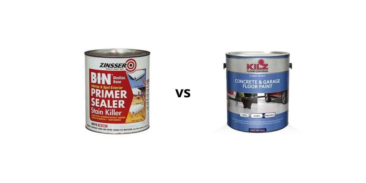 bin primer vs kilz for cat urine