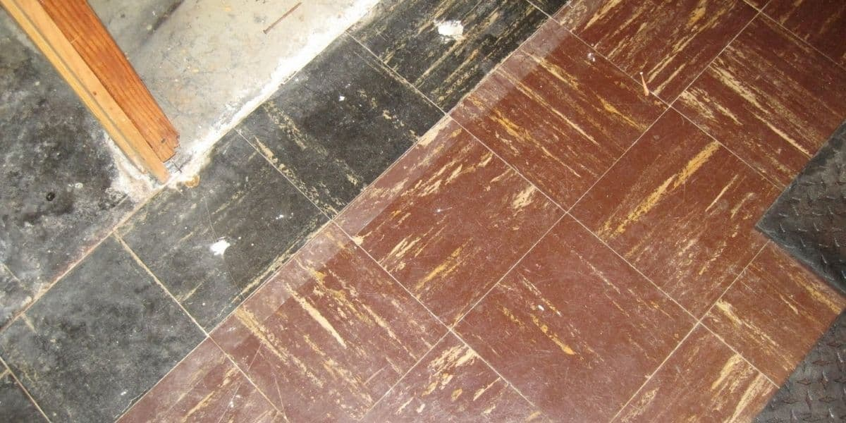 carpet over asbestos tile