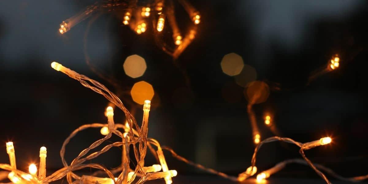 led christmas lights dim