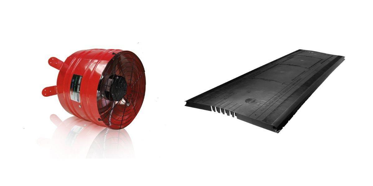 attic ventilation fans vs ridge vents