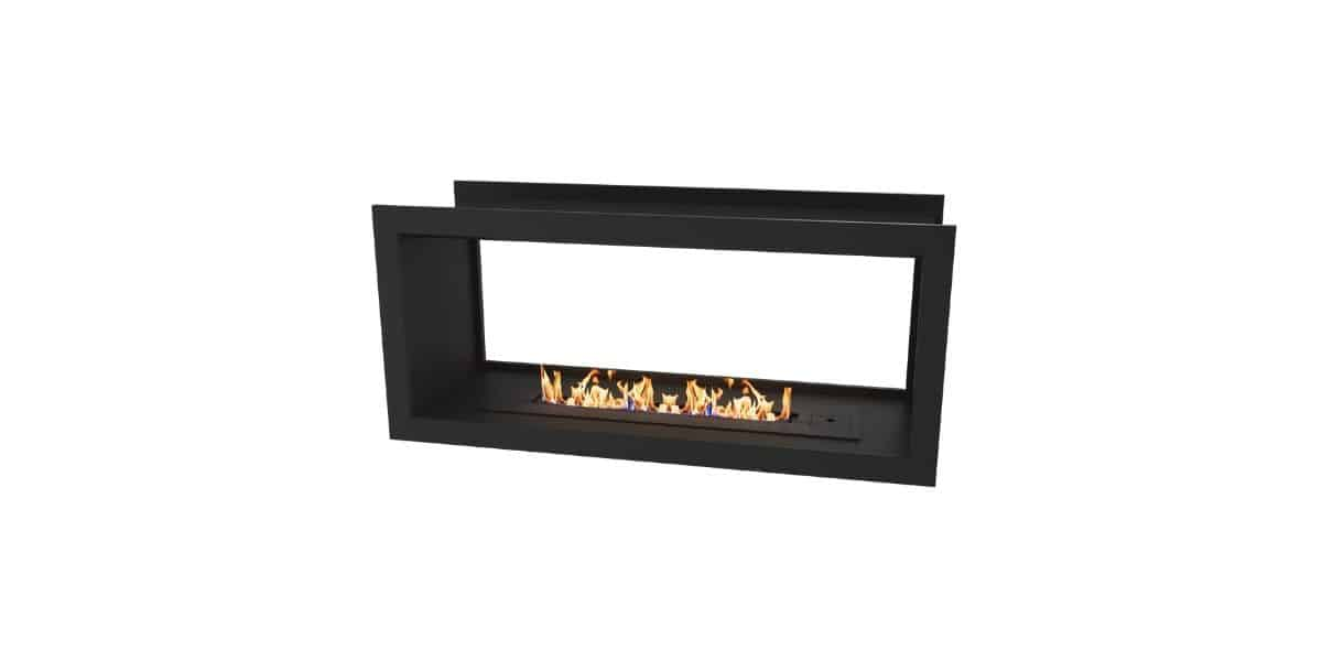 double sided fireplace problems