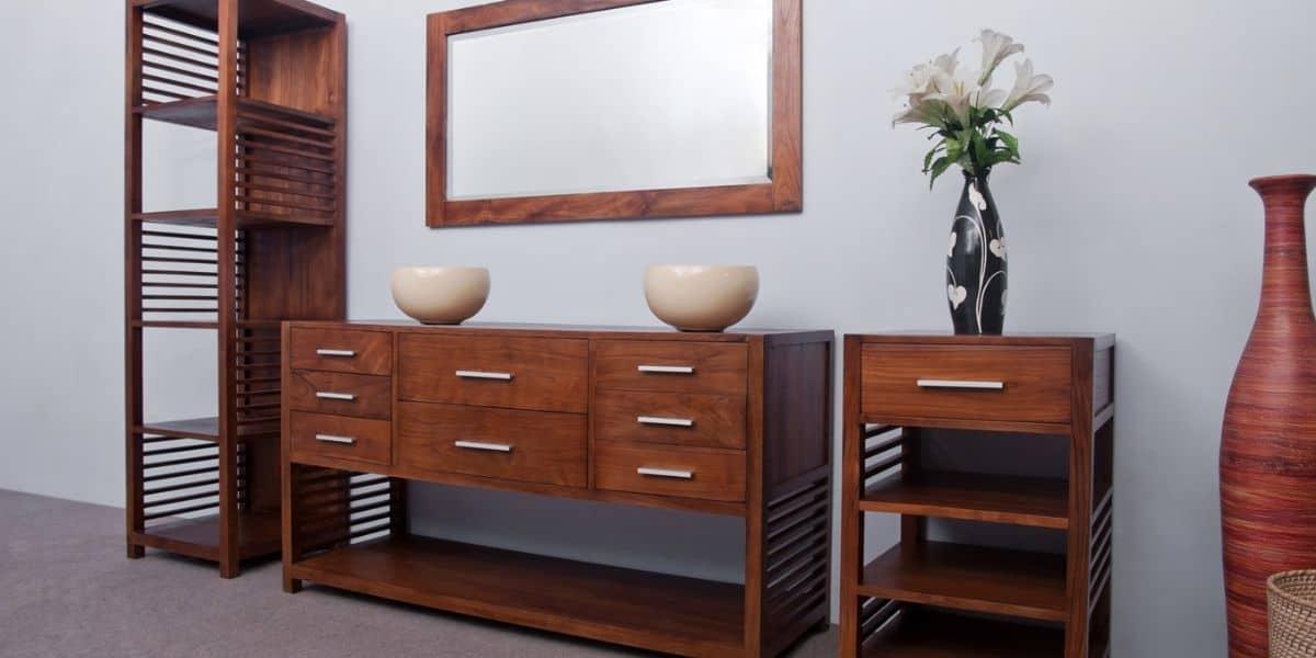 refinishing indoor teak furniture