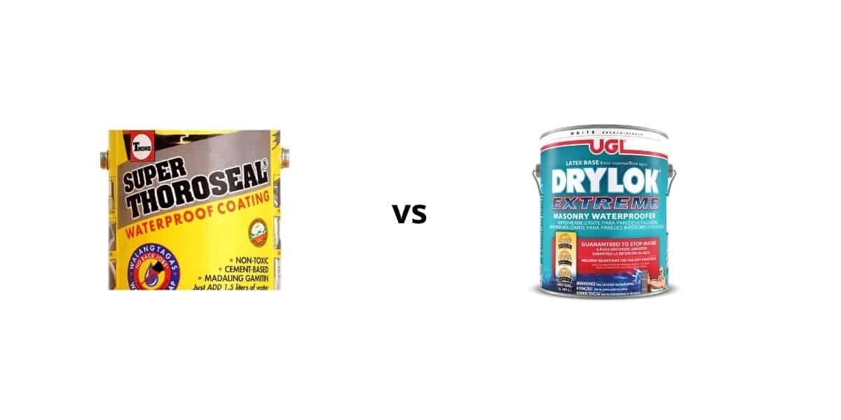 thoroseal vs drylok