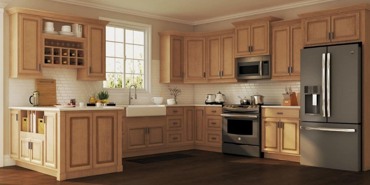 why do kitchens cabinets not go to the ceiling
