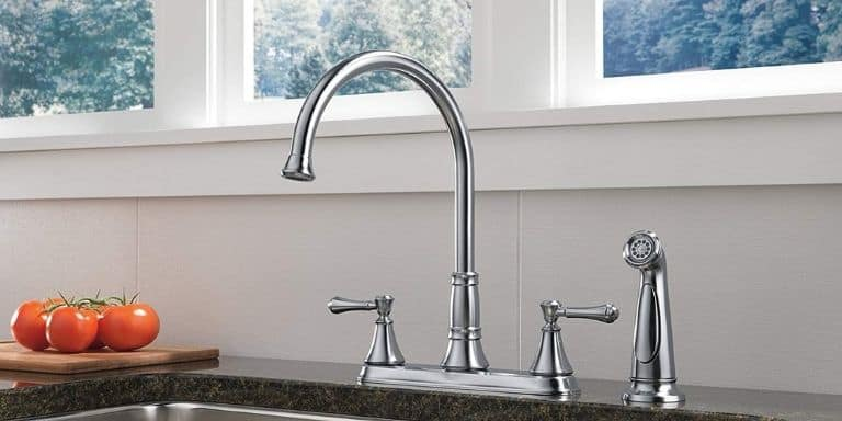 how to make kitchen faucet hole bigger