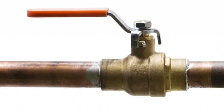 replace main water shut off valve cost