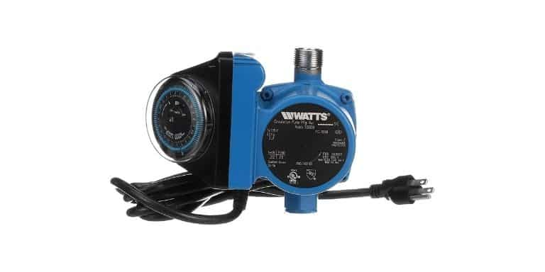 can i turn off my hot water recirculating pump