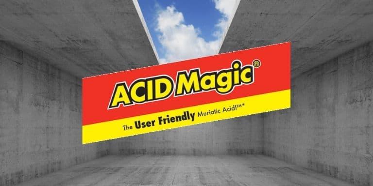 using muriatic acid to clean concrete