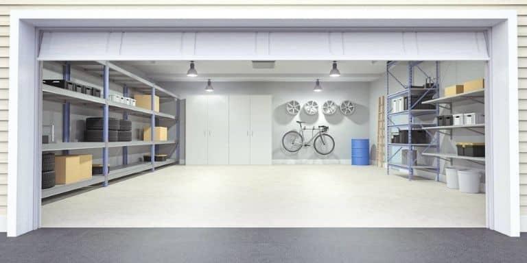 water softener no drain in garage