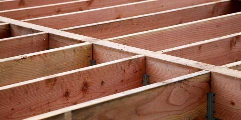 cutting holes in joists for duct