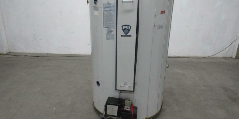 dented water heater
