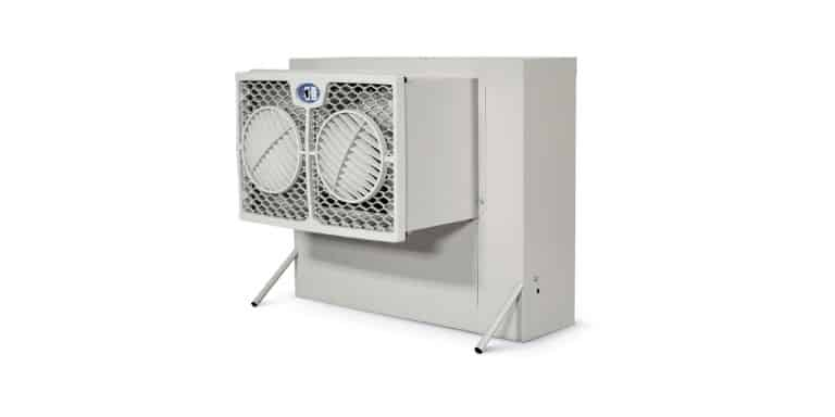 evaporative cooler duct sizing