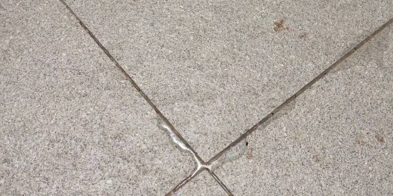 how to dispose of grout water