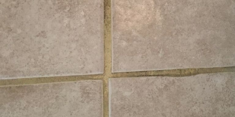 how to fix blotchy grout