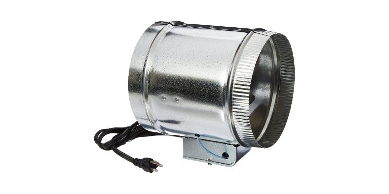 how to wire a duct booster fan to blower