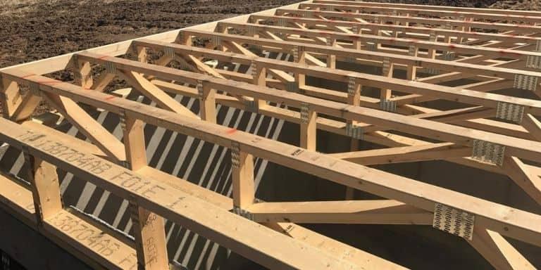 running ductwork through floor trusses