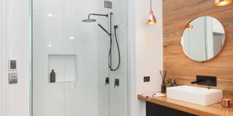 shower leaking