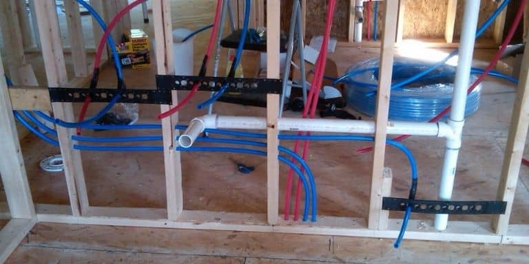 what size pex for bathroom