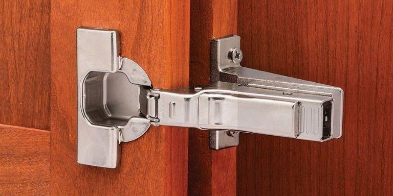 how to adjust old cabinet door hinges