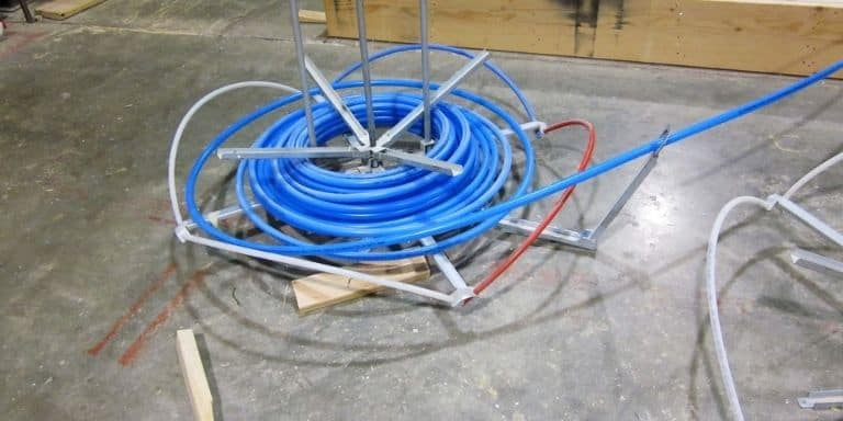 how to pressure test pex water lines