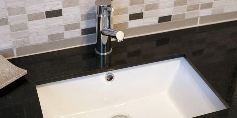 low water pressure in bathroom sink