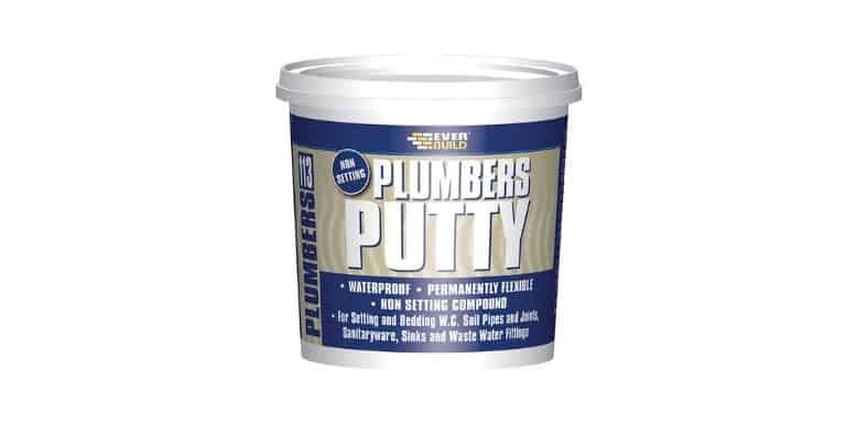 plumbers putty on plastic drains
