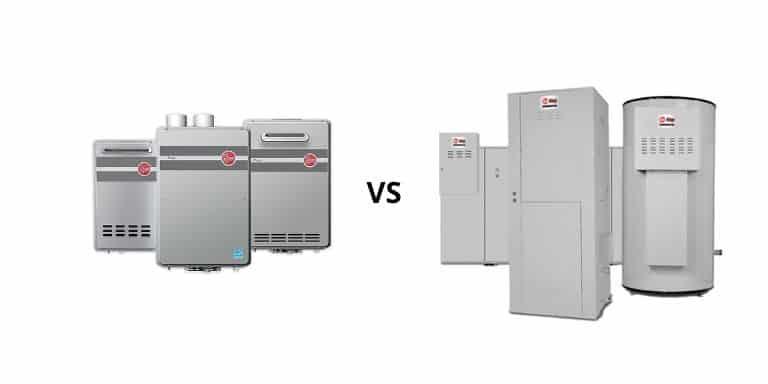 rheem vs ruud water heaters