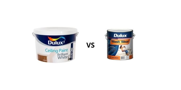 ceiling paint vs wall paint