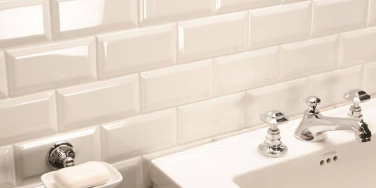 grouting beveled tile