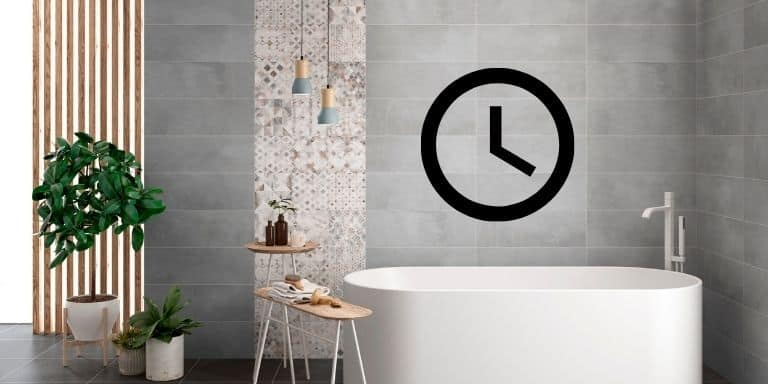 how long to wait before grouting tiles