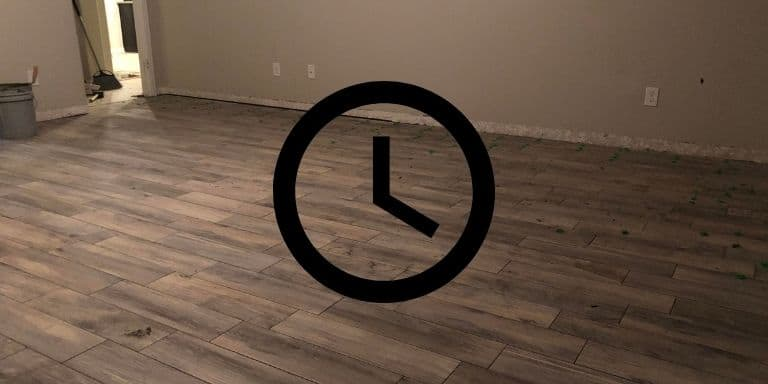 how long to wait before sealing grout