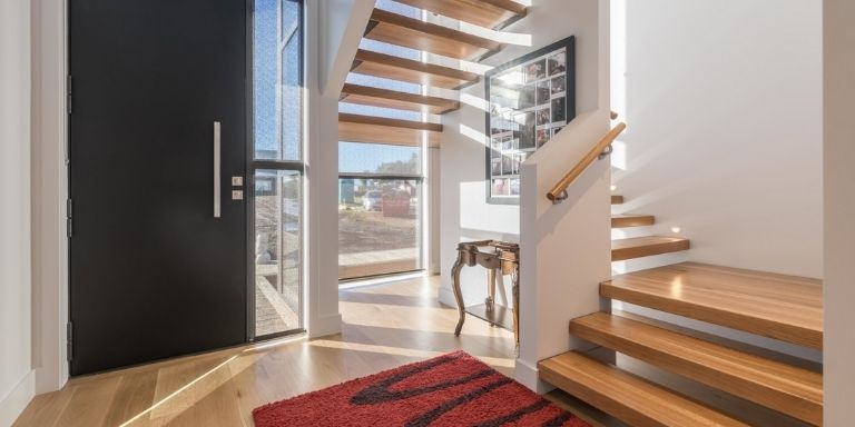 how to make wood stairs non slip