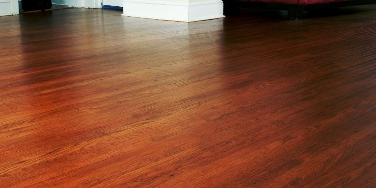 how to remove glue down wood floors