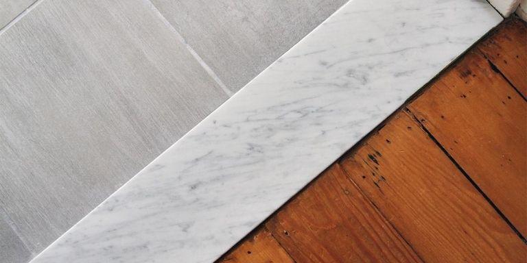 installing marble threshold