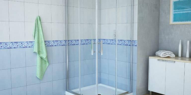 regrouting shower