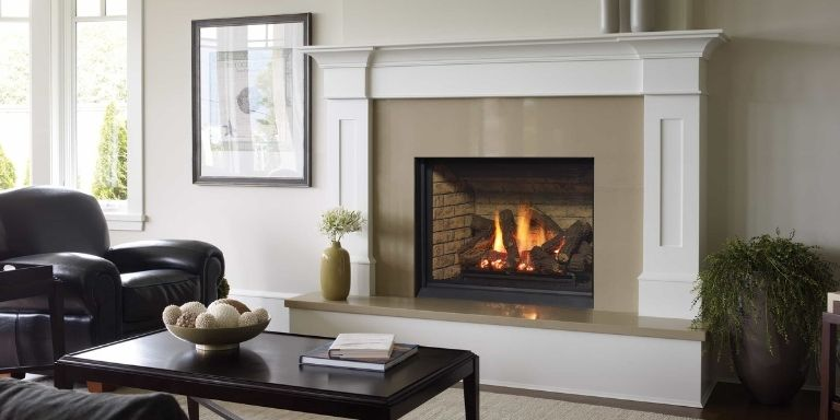 remove gas fireplace