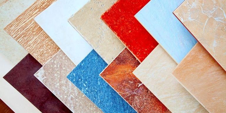 weight of ceramic tile